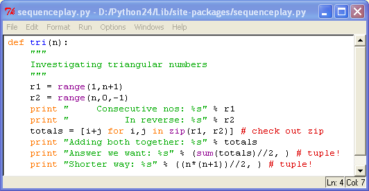 how to call a function from python shell