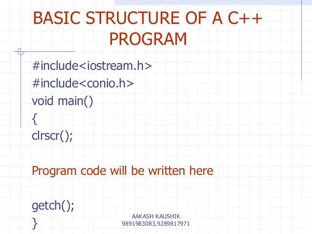 للمبتدئين في لغة C++ منهج متكامل من جامعةMIT