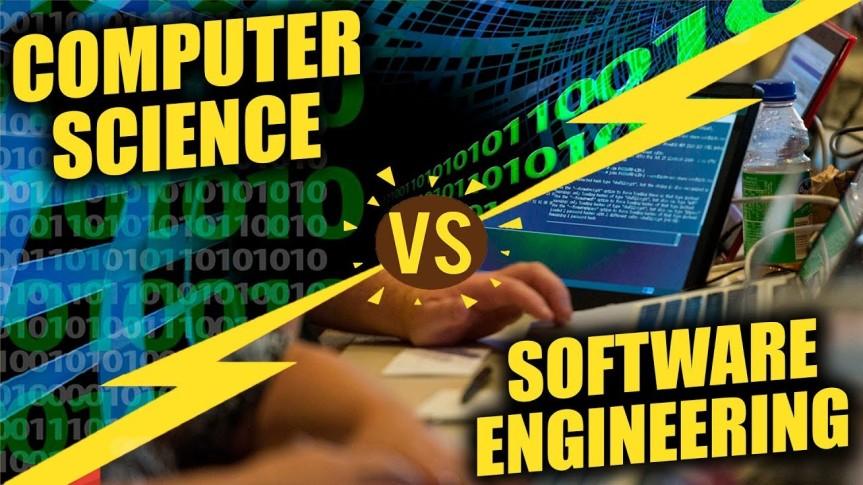 ما الفرق بين علوم الحاسوب وهندسةالبرامجيات؟